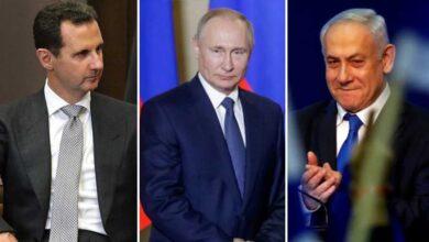 """صورة مصدر دبلوماسي يكـ.ـشف عن طلب وجهه """"بوتين"""" لإسرائيل بخصوص بشار الأسد.. إليكم مضمونه!"""