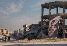 صورة صحيفة لبنانية تتحدث عن عرض سعودي مقدم لنظام الأسد بشأن تمويل إعادة الإعمار في سوريا.. ما المقابل؟