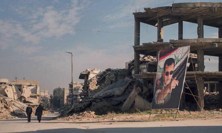 عرض سعودي مقدم لنظام الأسد