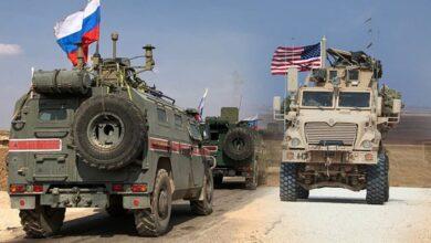 صورة الدفاع الروسية تتحدث عن تفاصيل اعتراض قافلة أمريكية شرق سوريا والبنتاغون يتجاهل التعليق!