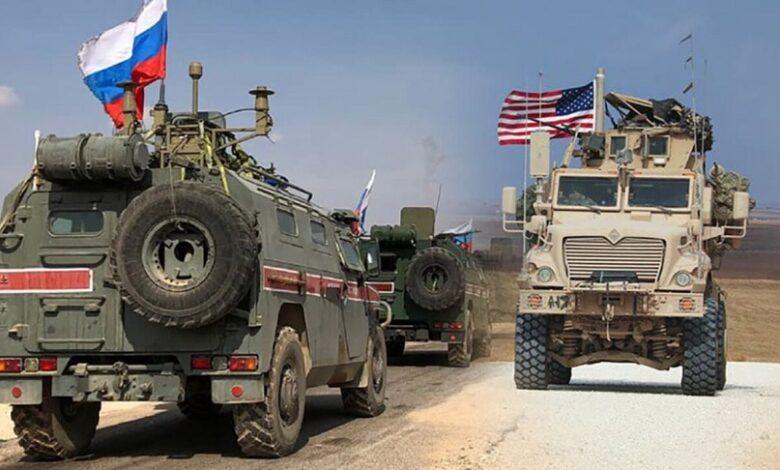 قافلة أمريكية شرق سوريا