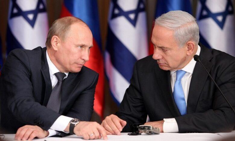 مباحثات بين بوتين ونتنياهو سوريا