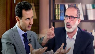"""صورة معاذ الخطيب يوجه رسالة هامة إلى السوريين ويصف خطاب بشار الأسد بـ""""الخطاب الأخير"""" (فيديو)"""