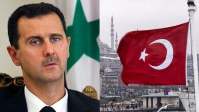 صورة نظام الأسد يطرق باب تركيا.. بشار الجعفري يتحدث عن لقاءات أمنية مع مسؤولين أتراك.. إليكم نتائجها