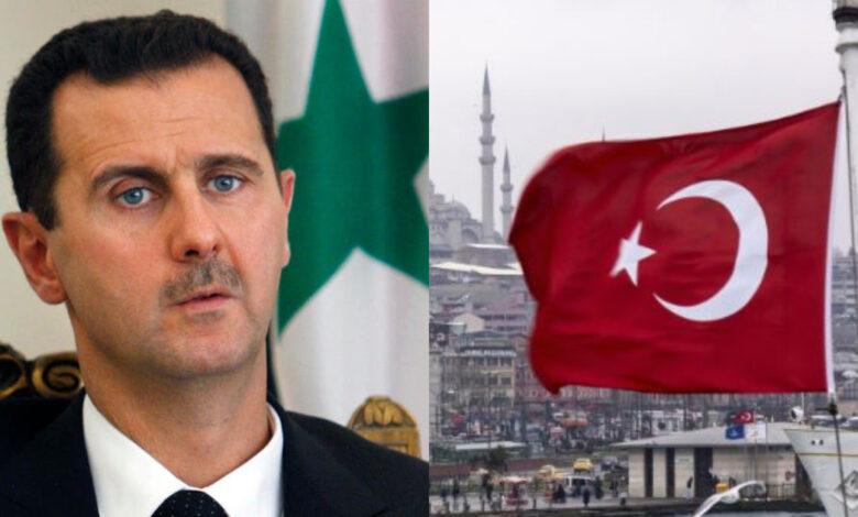نظام الأسد تركيا