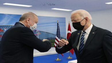 """صورة أردوغان يتحدث عن """"حقبة جديدة"""" في العلاقات مع الولايات المتحدة في ظل إدارة بايدن!"""