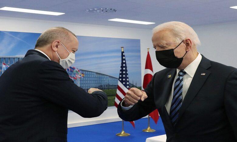 أردوغان العلاقات مع الولايات المتحدة