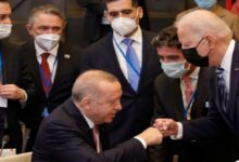 """صورة """"أردوغان"""" يكشـ.ـف تفاصيل المحادثات خلال الاجتماع مع نظيره """"بايدن"""".. هـ.ـذا ما تم الاتفاق عليه بشأن سوريا"""