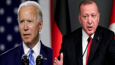 """صورة قبيل الاجتماع مع """"بايدن"""".. أردوغان يوجه رسالة هامة للإدارة الأمريكية بشأن الملف السوري!"""