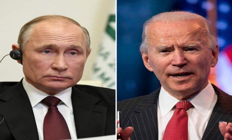 القمة بين بوتين وبايدن