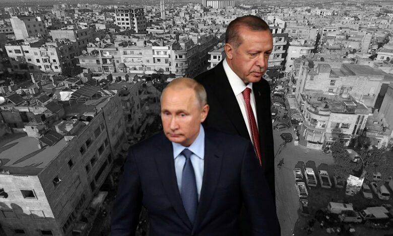 القيادة الروسية تركيا إدلب