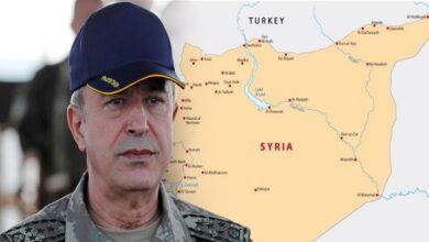 صورة وزير الدفاع التركي يدلي بتصريحات جديدة حول إنشاء المنطقة الآمنة شمال سوريا