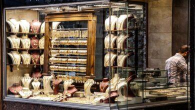 صورة انخفاض ملحوظ تسجله أسعار الذهب في الأسواق السورية متأثرة بسعر الذهب العالمي!