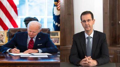 صورة إدارة بايدن تحدد طريق السلام في سوريا وتتوعد نظام الأسد والدول الراغبة بإعادة العلاقات معه!