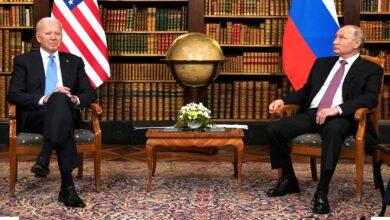 صورة صحيفة أمريكية: بايدن يختبر بوتين والأخير سيرد في سوريا