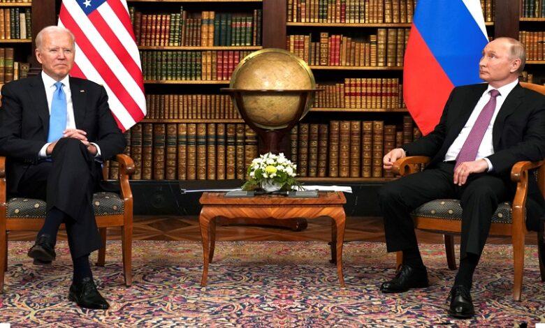 بايدن بوتين في سوريا