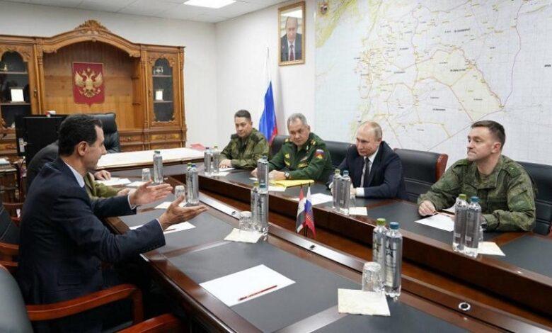 بوتين الجديدة في سوريا