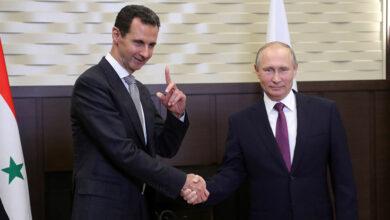 """صورة بوتين يتحدث عن تلقـ.ـيه إجـ.ـابة غريـ.ـبة من الأمريكيين عندما سـ.ـألهم عن بديـ.ـل """"بشار الأسد"""" في حـ.ـال رحيـ.ـله!"""