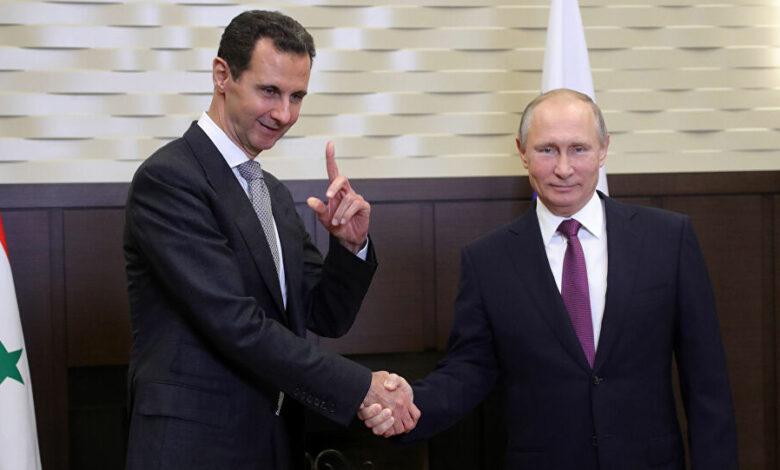 بوتين بديل بشار الأسد