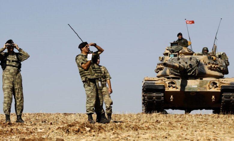 تحرك للقوات التركية سوريا