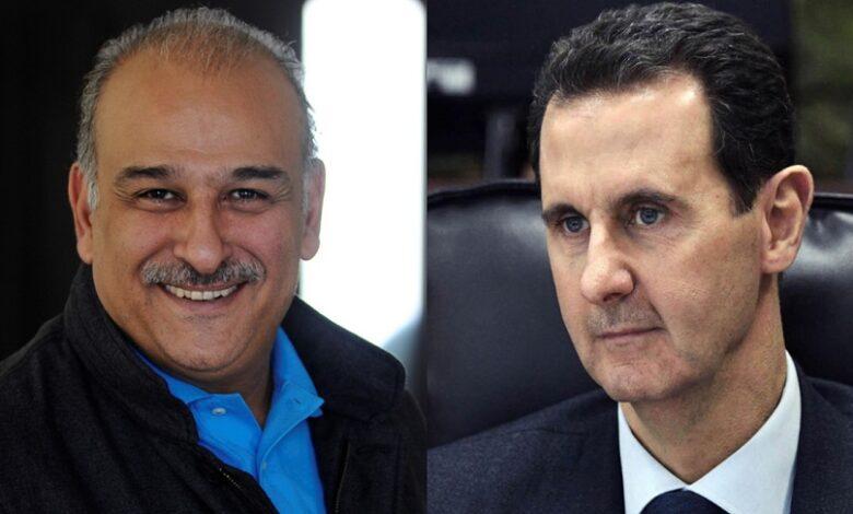 جمال سليمان بشار الأسد