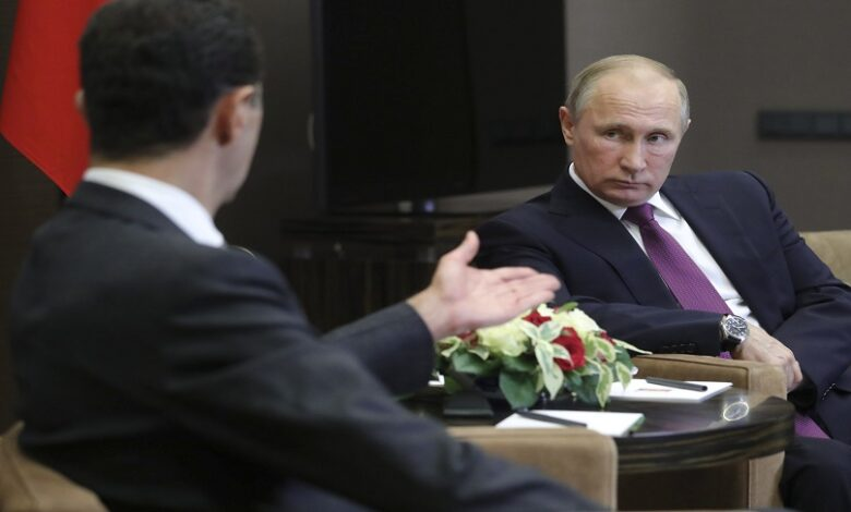 حكومة جديدة لنظام الأسد