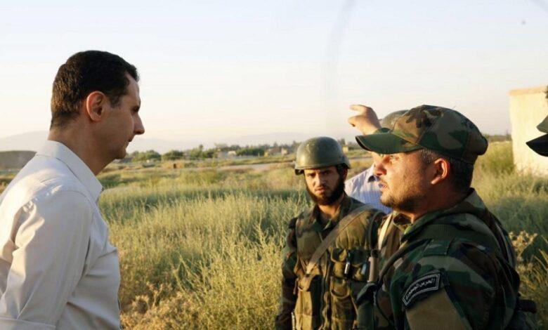 رسالة عناصر النظام إلى بشار الأسد