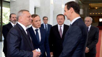 صورة مسؤول روسي رفيع المستوى ينقل رسالة من بوتين إلى بشار الأسد ويتحدث عن تقارب مع أمريكا بشأن سوريا