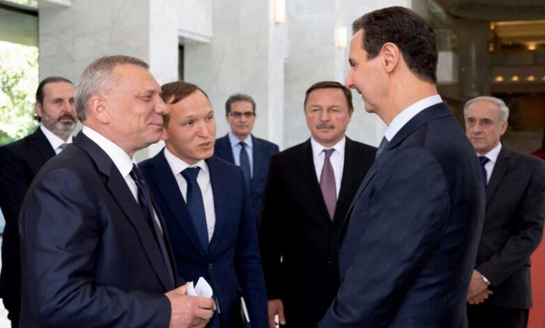 رسالة من بوتين إلى بشار الأسد