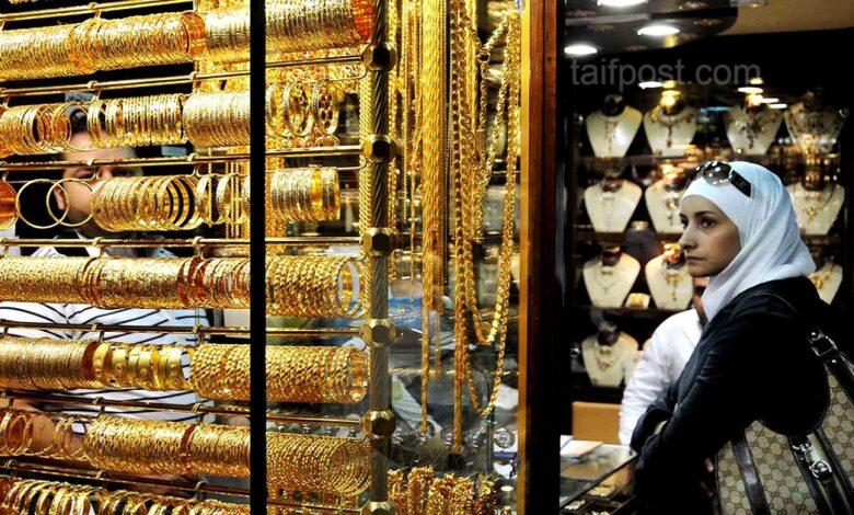 غرام الذهب الأسواق السورية ارتفاعاً
