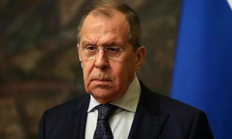 لافروف الأوضاع في سوريا