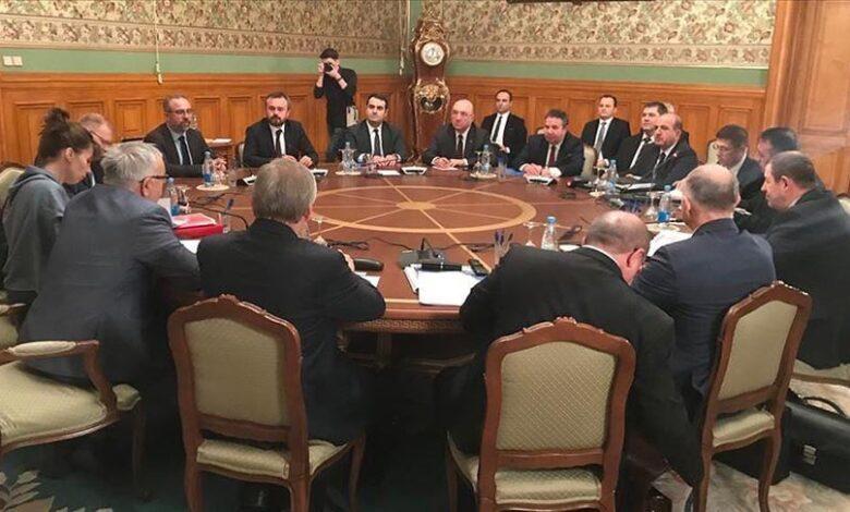 مباحثات بين روسيا وتركيا