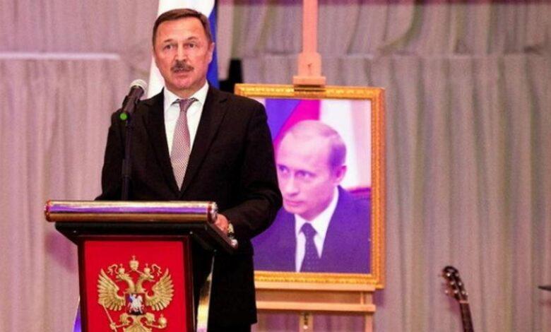ممثل بوتين نظام الأسد