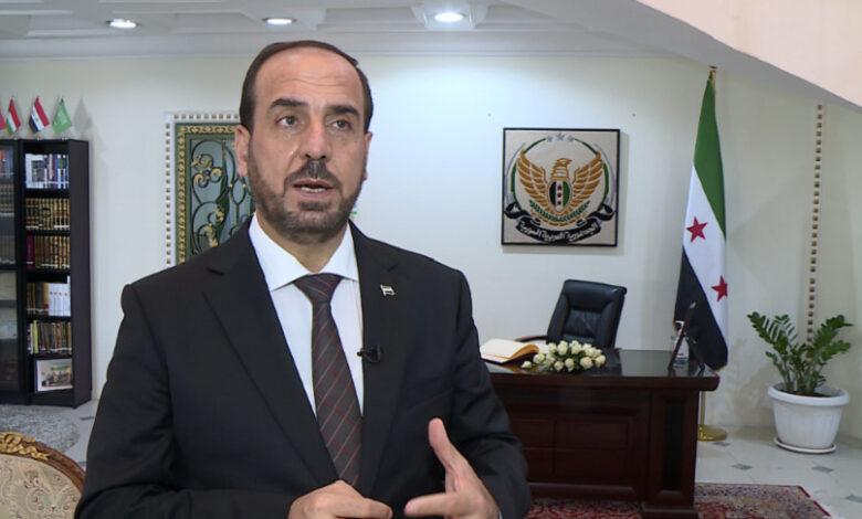 نصر الحريري انتخابات الائتلاف السوري