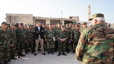 """صورة """"خطط النظام العسكرية للأعوام القادمة"""".. الكشـ.ـف عن تفاصيل اجتماع أمني لكبار ضباط نظام الأسد!"""