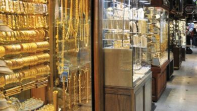 صورة ارتفاع ملحوظ تسجله أسعار الذهب في الأسواق السورية لتأثرها بسعر الذهب العالمي!