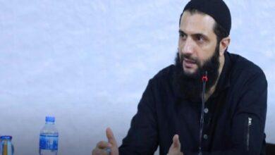 صورة الجولاني يتحدث عن السيناريوهات المحتملة في إدلب وتعليق أمريكي على التطورات الأخيرة شمال سوريا