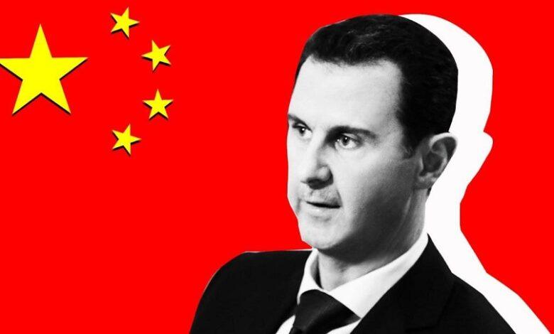الدور الصيني في سوريا