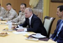 """صورة """"بشكل مفـ.ـاجئ"""".. القيادة الروسية تعـ.ـلن عن عـ.ـقد اجتماع طـ.ـارئ في دمشق!"""