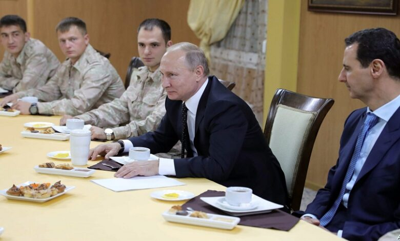 القيادة الروسية اجتماع دمشق