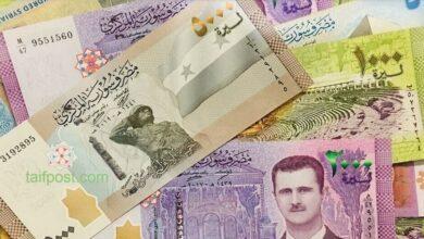 صورة الليرة السورية تنخفض لمستويات جديدة مقابل الدولار والعملات الأجنبية وارتفاع بأسعار الذهب محلياً وعالمياً