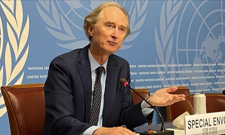 المبعوث الأممي إلى سوريا