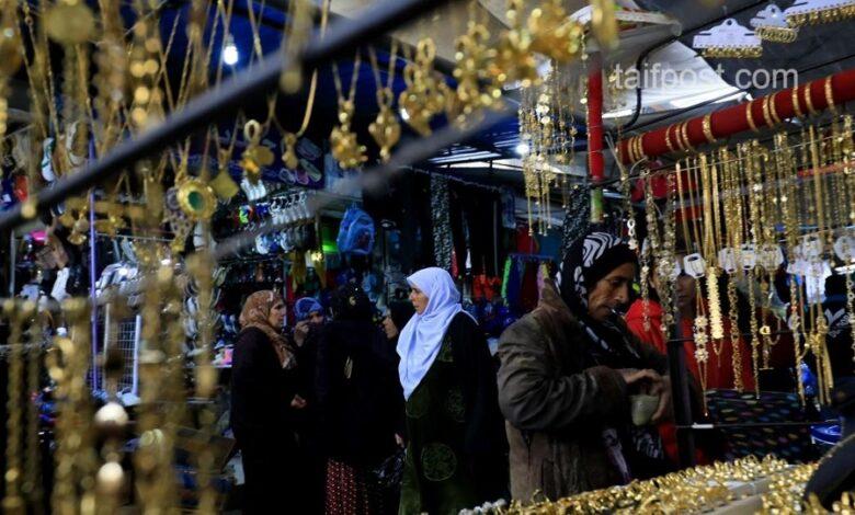 انخفاض الذهب الأسواق السورية