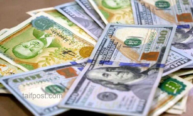 انخفاض تسجله الليرة السورية مقابل الدولار