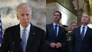"""صورة صحيفة دولية تتحدث عن رسائل قوية وجهها """"بايدن"""" لروسيا وإيران وبشار الأسد بشأن الأوضاع في سوريا"""