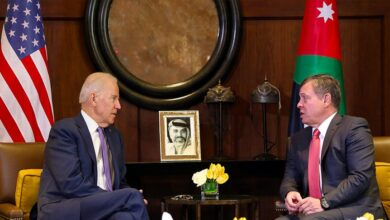 """صورة بحثا التحـ.ـديات """"الهـ.ـائلة"""" في سوريا.. تفاصيل المحادثات بين """"بايدن"""" وملك الأردن!"""