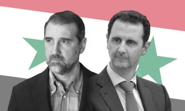 بشار الأسد رامي مخلوف