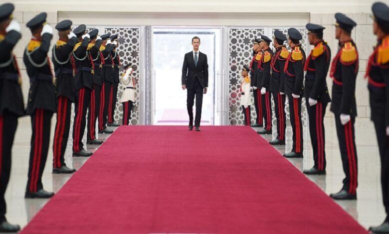 بشار الأسد يجدد ولايته بالقسم