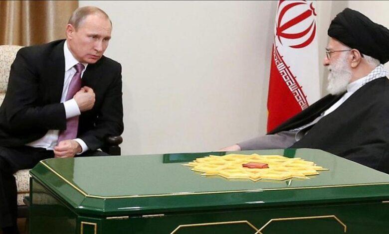 روسيا وإيران بشأن سوريا