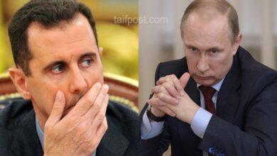 """صورة """"سوريا مقبلة على التغيير"""".. القيادة الروسية توجه صفـ.ـعة جديدة لـ""""بشار الأسد"""" ونظامه!"""